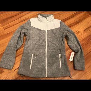NWT Women New Balance Premium Micro Fleece Jacket